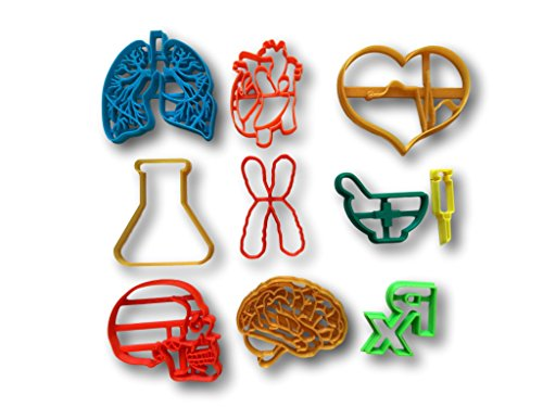 Medical Set Cookie Cutters 10 items