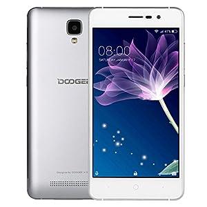 DOOGEE X10, Unlocked Cell Phones, Dual Sim Smartphone - 5.0