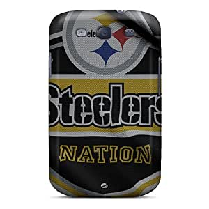 Galaxy S3 Pittsburgh Steelers Print High Quality Tpu Gel Frame Cases Covers