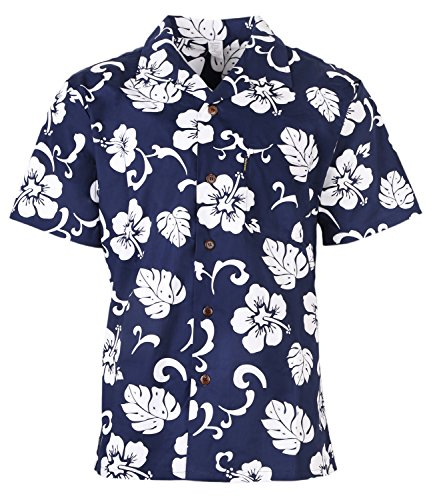 Mens Hawaiian Shirt Aloha Shirt