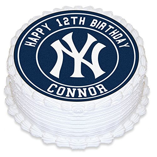 New York Yankees Cake Topper Personalized Birthday 8