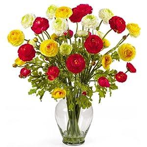 artificial ranunculus flowers