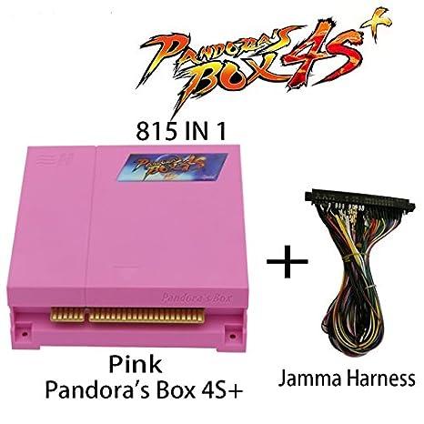 Amazon.es: Wisamic Pandora Box 4S + 815 en 1 Arcade Game Box ...
