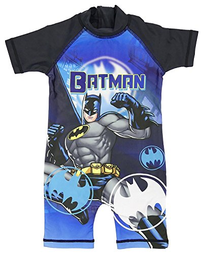 Boys Character All in One Surf Suit Good Coverage from UV Rays 1.5y to 4-5y (Batman, 2-3 -