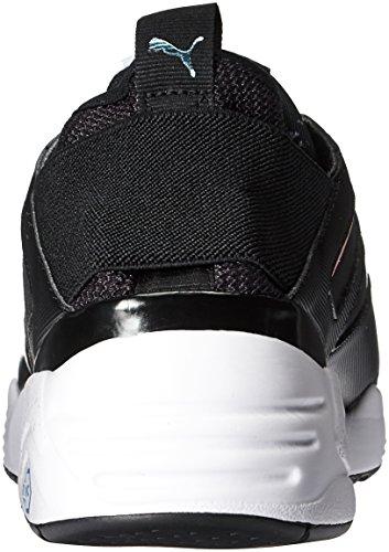 Puma Women's B.o.g Sock Explosive WN's Cross-Trainer Shoe, White White Puma Black-puma Black