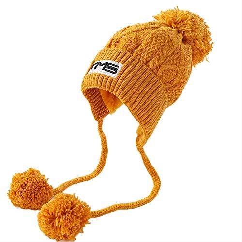 Knit Hat Hair Ball Knit Hat...