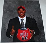 Derrick Rose Autographed Photo - 8x10 Autograph Memphis - Autographed NBA Photos