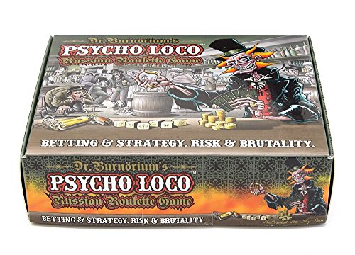 Psycho Loco Russian Roulette Game Chili Chocolate Game