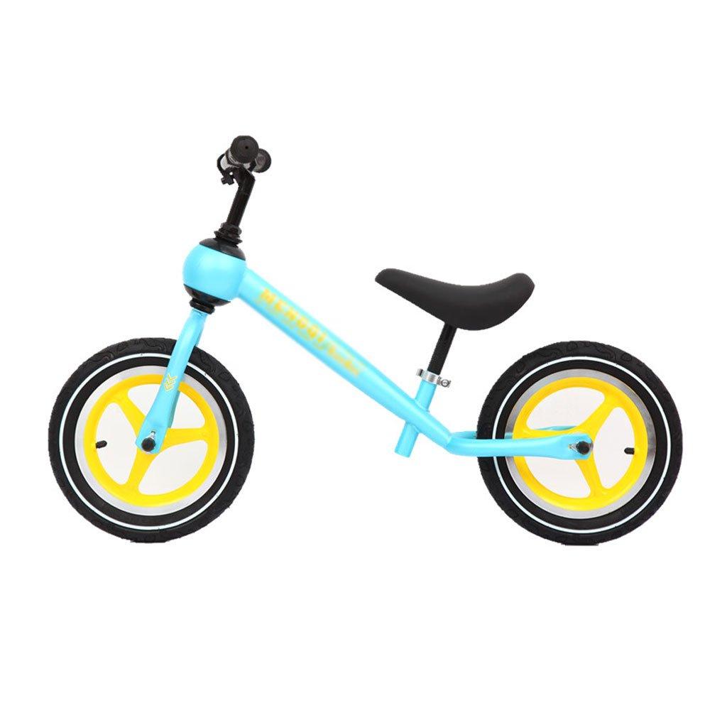 子供のスクーターペダルなしバギー子供ダブルホイール自転車ベビースクーターバランス車インフレ子供のスクーター2ラウンドウォーカー2-6歳 B07F5CDGT9 A A