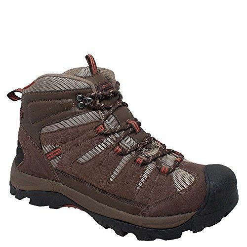 Coleman Men's PLATEAU Brown Suede Leather Soft Toe Hiker Shoe. PLATEAU-13D