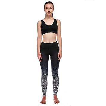 WEICHUNC Yoga Legging- Entrenamiento Capris - Mallas de ...