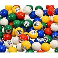 Regal Games 7/8 - Bolas de Bingo de Recambio con Ventana de fácil Lectura (para Jaula de Bingo de 30,48 cm)