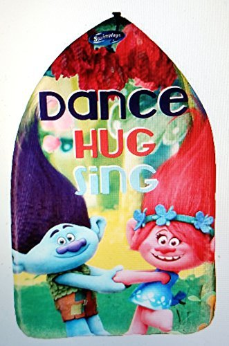 Swimways Dreamworks Trolls Floating Kickboard - Dance Hug Sing