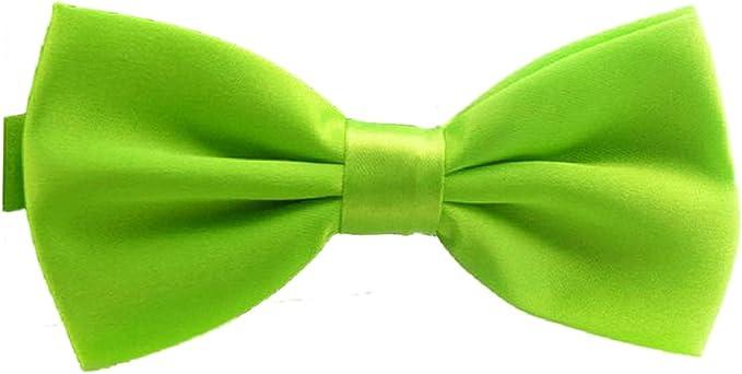 TOOGOO(R)) - Pajarita - para hombre verde esmeralda Talla única ...