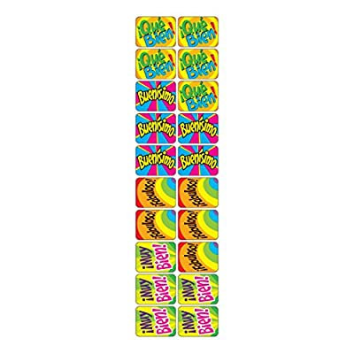 Trend Enterprises Inc. ¡Fabuloso! (SP) Applause Stickers, 100 ct.: Toys & Games