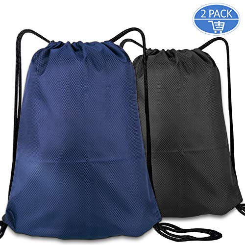 Cinch Backpack, Inpher Waterproof Travel Gym Drawstring Bag for Men and Women