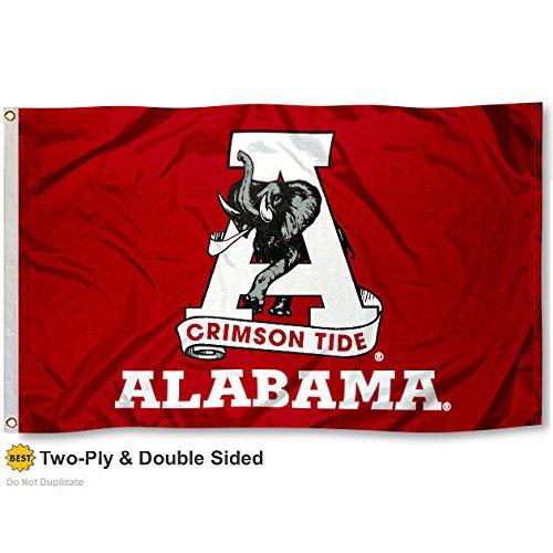 Alabama Crimson Tide Double-Sided 3x5 Flag