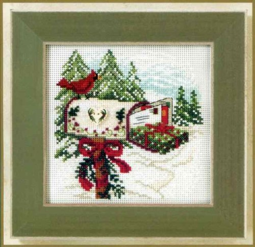 Mill Hill Button Beads Counted Cross Stitch Kit - Holiday De