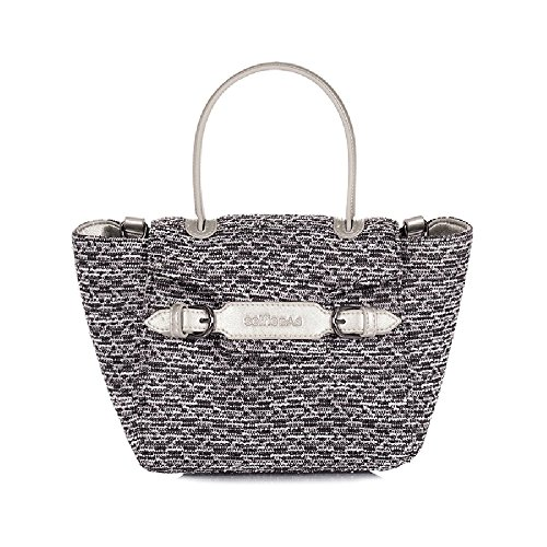borsa Selfie Bag small by Le Pandorine limited edition Wool Black AI16SAA00300