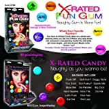 X-Rated Fun Gum 90Pc Wall Mount Box Dsp