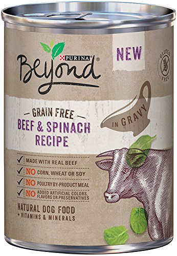 Purina Beyond GRAIN FREE Beef & Spinach Recipe (6-CANS) (NET WT 12.5 OZ EACH Review