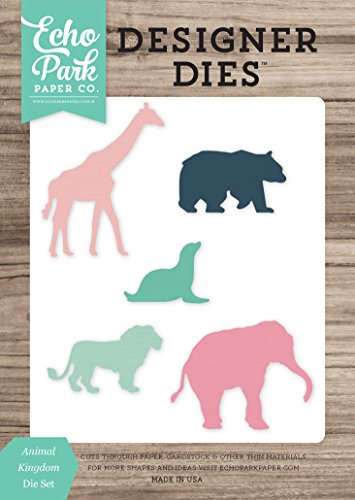 Animals Die - Echo Park Paper Company Animal Kingdom Die Set