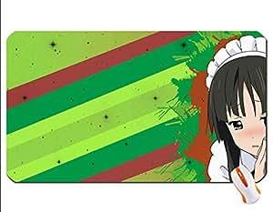 akiyama_mio k on maid wallpaper mouse pad super big mousepad Dimensions: 23.6 x 13.8 x 0.2(60x35x0.3cm)