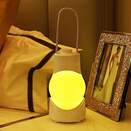 Iluminación de cronometraje de carga de la luz de la noche del LED pequeño, noche de alimentación de la linterna de la...