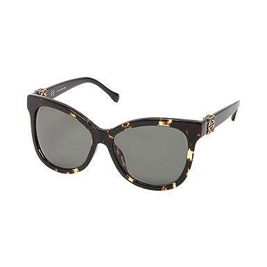 Loewe Damen Sonnenbrille SLW950G590780, Braun (Shiny Honey Havana), 59
