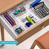 Kootek 16 Pcs Modular Drawer Organizer with