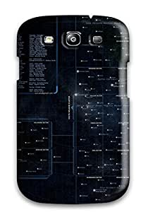 Hot Fashion RSXOmEn3004Tubem Design YY-ONE For Galaxy S3 Protective Case (galactic Star Chart)
