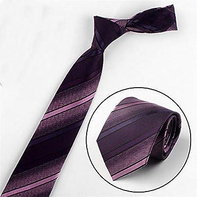 xqzs Vestido de Negocios con Corbata para Hombres 8cm de Ancho a ...