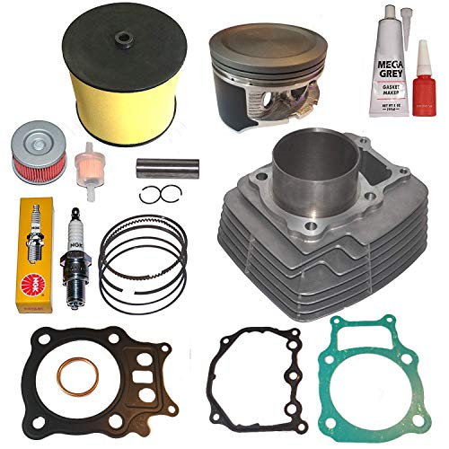 (Fits Honda Rancher Trx350 TRX 350 Big Bore 355cc Cylinder Piston Kit Set 2000-2006)