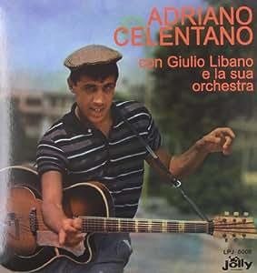 Adriano Celentano  Con Giulio Libano E Orchestra  [Vinilo]