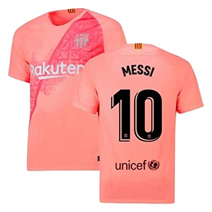 b37cce52f04 Messi ## 10 Printed Barcolana Away 2018-2019 Jersey with Shorts Jersey Set  (Half Sleeves)/ Barcelona Third Kit Football Jersey/Master Quality with All  ...