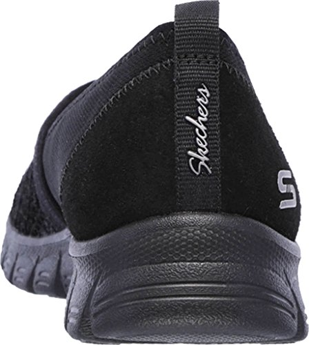 Skechers Womens Ez Flex 3.0 Duchess Slip-on Scarpe Casual, Nero Nero