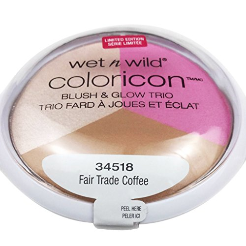 Cheap Wet n Wild Spring Limited Edition Silver Lake Collection Color Icon Blush & Glow Trios - 34518 Fair Trade Coffee