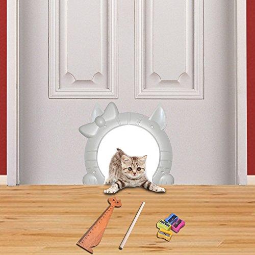 Neodot Interior Cat Door For Medium Large Cats