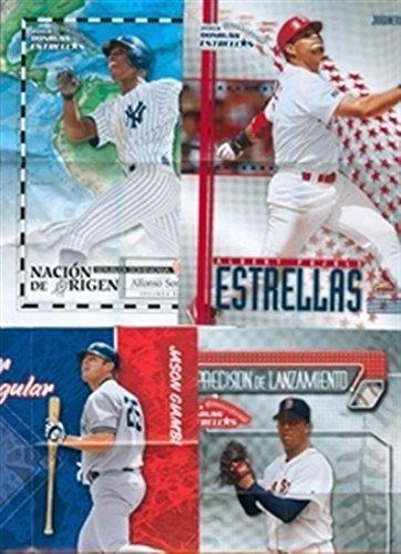 2003 Donruss Estrellas Poster Alfonso Soriano Yankees Nacion De Origin