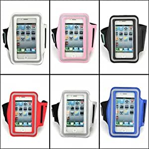 Running Sports Gym Waterproof Armband Case For iPhone 4 4S --- Color:Pink