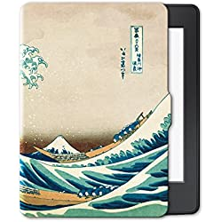 Case for kindle paperwhite-Original Design Case Skin with Auto Wake / Sleep for kindle paperwhite (Fits 2012, 2013, 2015 and 2016 Versions)