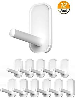 Amazon.com: Ganchos adhesivos, ganchos de pared resistentes ...