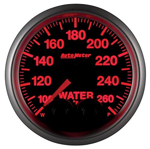 Auto Meter 5654 Elite Series Water Temperature Gauge by Auto Meter (Image #2)
