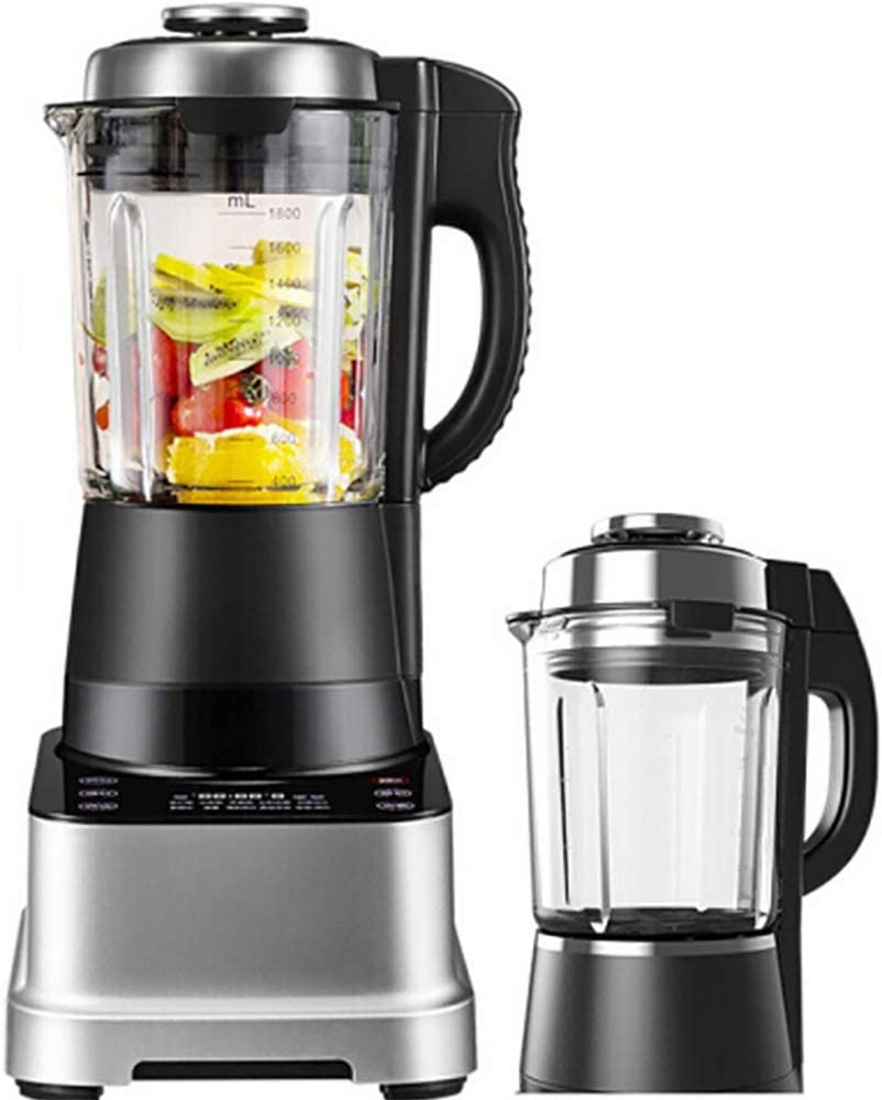 Blender, Smoothie Blender 1500W for Ice Crushing with 8-Speed (43000 r/min) and 10-Programs Setting, 62 OZ Glass Jar & 4 Titanium Alloy Blades & Stainless Steel Housing Base,A