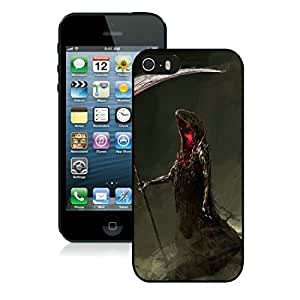 Provide Personalized Customized Iphone 5S Protective Cover Case Halloween iPhone 5 5S TPU Case 17 Black