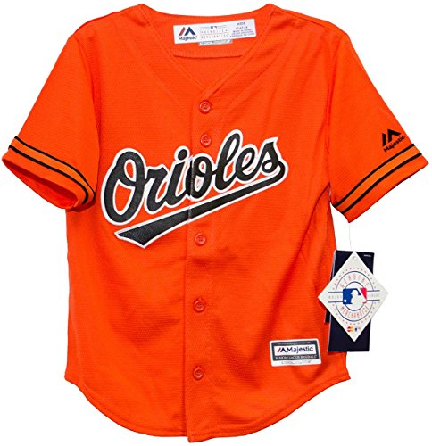 Baltimore Orioles Toddler Orange Jersey by Majestic ()