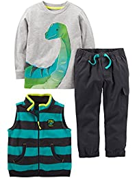 Boys' Toddler 3-Piece Playwear Set,