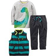 Simple Joys by Carter's Boys' 3-Piece Playwear Set