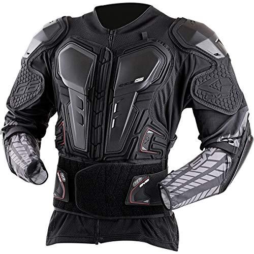 EVS G6 Adult Off-Road Motorcycle Ballistic Jersey - Black/Medium