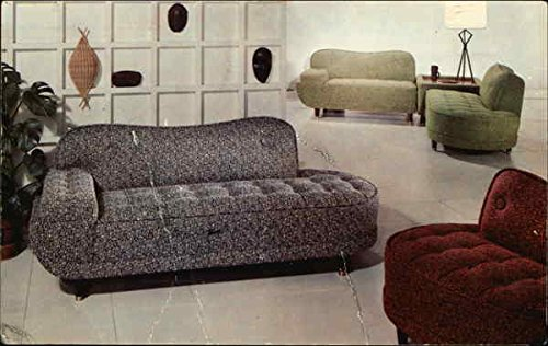 Vintage Advertising Postcard: Tufted Modern Furniture Penbrook, Pennsylvania ()